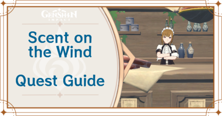 Genshin Impact - Scent on the Wind World Quest