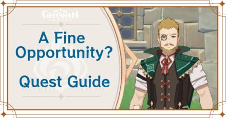 Genshin Impact - A Fine Opportunity? World Quest