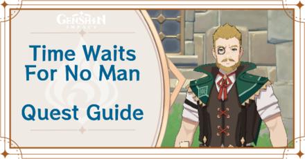 Genshin Impact - Time Waits For No Man World Quest