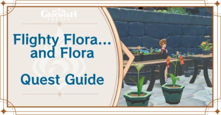 Genshin Impact - Flighty Flora... and Flora World Quest