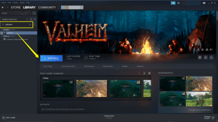 Valheim - How to Install on Steam 1.png