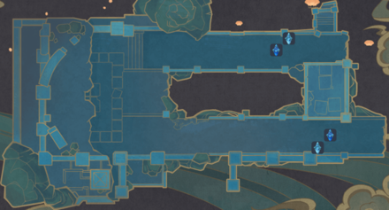 Theater Mechanicus - Stage 3 Wave 1 Tower Map