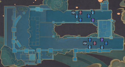 Theater Mechanicus - Stage 3 Wave 5 Tower Map