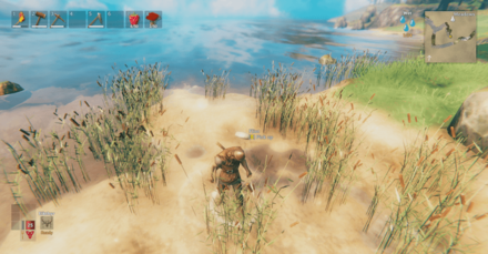 Valheim List of Flint Weapons and How to Get and Craft - Pick Up Flint Near Bodies of Water