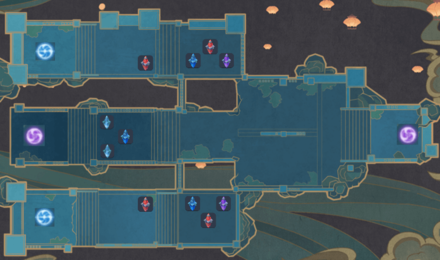 Theater Mechanicus - Stage 5 Wave 3 Tower Map