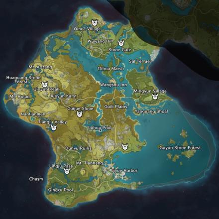 Genshin Impact - Unusual Hilichurl Locations in Liyue