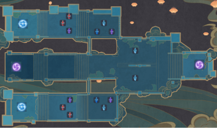 Theater Mechanicus - Stage 6 Version 2 Wave 6 Tower Map