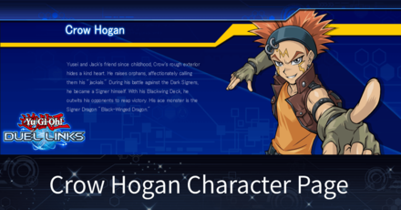 Crow Hogan Character Page | Duel Links|Game8