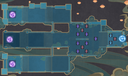 Theater Mechanicus - Special Mode Wave 3 Tower Map