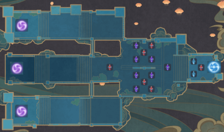 Theater Mechanicus - Special Mode Wave 6-10 Tower Map