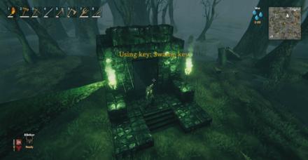 Swamp Key Does Not Break