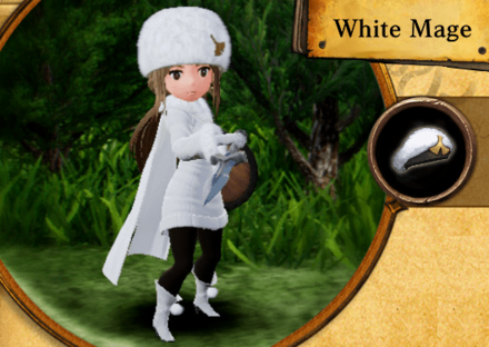 Bravely Default II - White Mage Job Abilities and Proficiencies