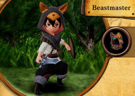 Bravely Default II - Beastmaster Job Abilities and Proficiencies