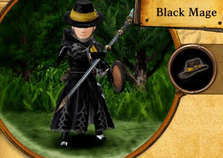 Bravely Default II - Black Mage Job Abilities and Proficiencies