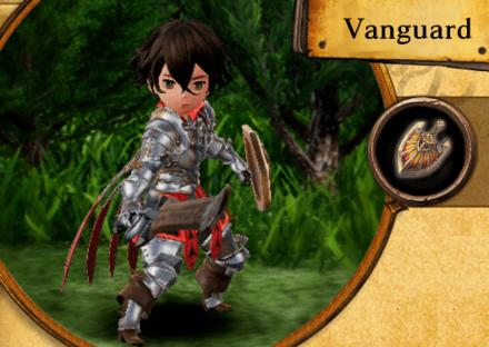 Bravely Default II - Vanguard Job Abilities and Proficiencies