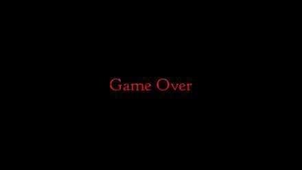 Bravely Default 2 Game Over