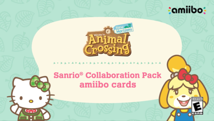 ACNH - Sanrio Collaboration Pack amiibo cards