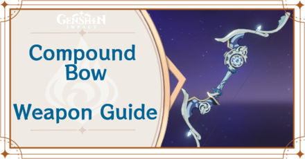 Genshin Impact - Compound Bow Bow