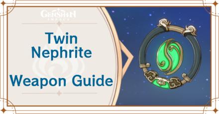 Genshin Impact - Twin Nephrite Catalyst