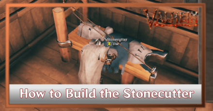 How to Build the Stonecutter Banner