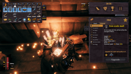 Valheim (Walkthrough & Progression) - Upgrade Your Iron Gear.png