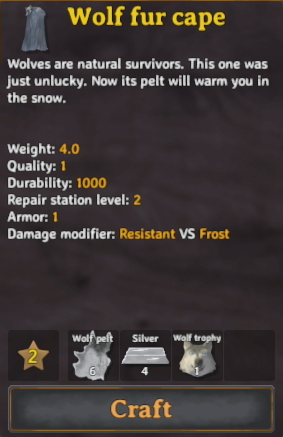 Valheim Trophies Used for Crafting