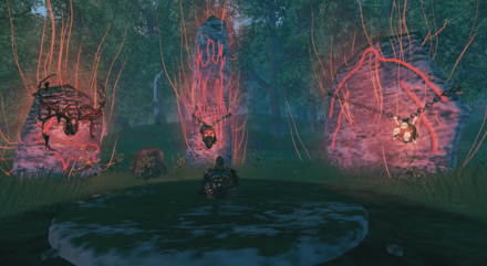 Valheim Return Boss Trophies to Summoning Altar