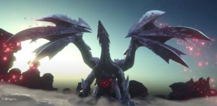 MHRise Valstrax Elder Dragon
