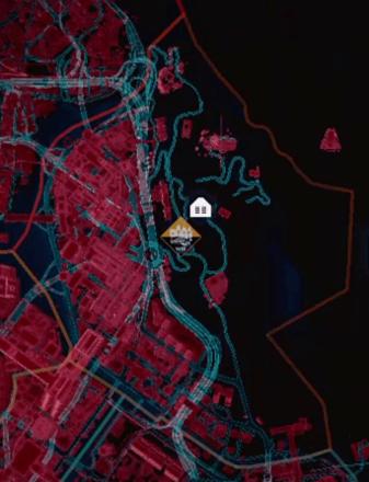 Cyberpunk 2077 - Westbrook Map.png