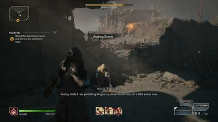 Outriders Level Up Fast Guide - Talk to Audrey