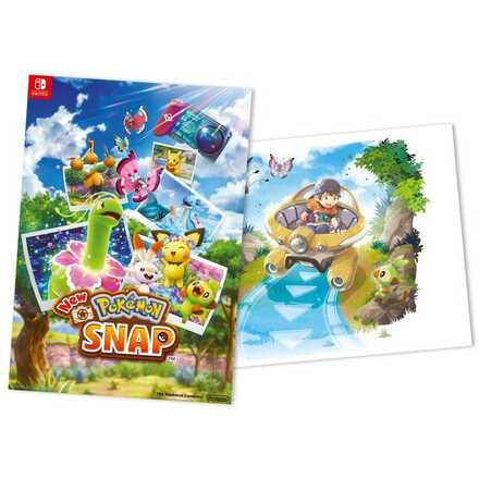New Pokemon Snap - Double Sided Poster.jpg