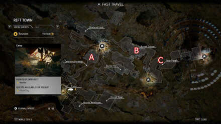 Outriders Farming Legendary Items Guide - Second Story Point Map.jpg