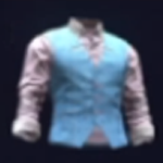Classy Pastel Shirt and Vest