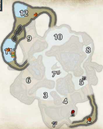 Frost Islands Tricktoad Locations