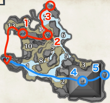 king rhino farming route.png