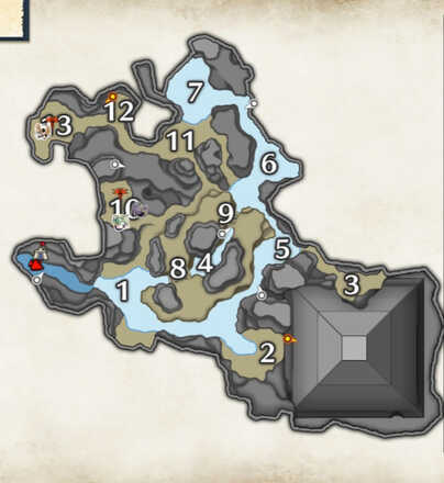 Flooded Forest Cutterfly Locations
