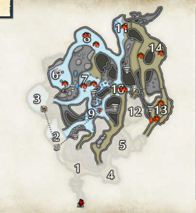 Lava Caverns Cutterfly Locations