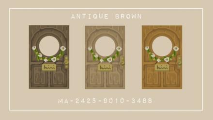 ACNH - Antique Door (Wood)