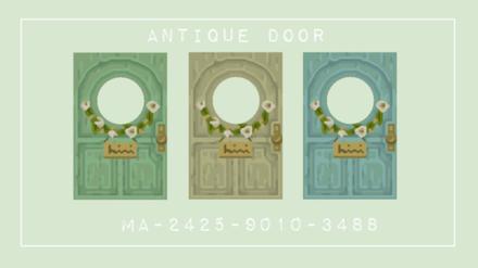 ACNH - Antique Door (Pastel)