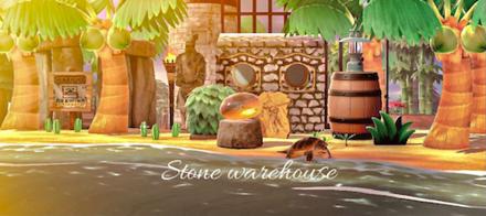 ACNH - Stone Warehouse
