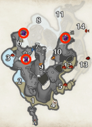 iridiscent ore locations in lava caverns (lower level).png