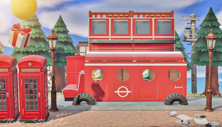 ACNH - London Bus