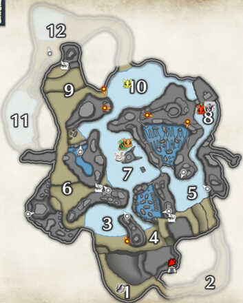 Frost Islands Stinkmink Locations