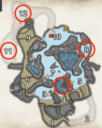 zamite locations in the frost islands.png