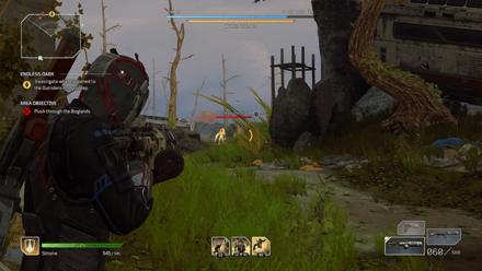 Outriders - Endless Dark Boglands Enemies