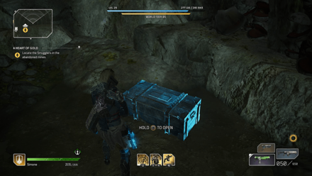 Outriders - A Heart of Gold Chest Location1