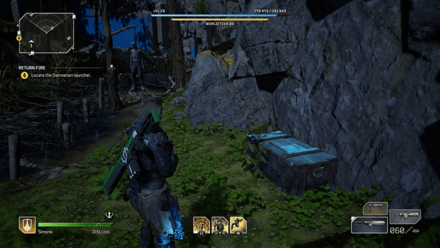 Outriders - Return Fire Chest Location1