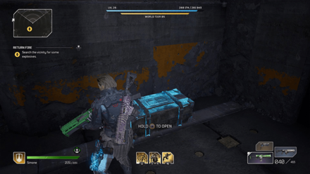 Outriders - Return Fire Chest Location2