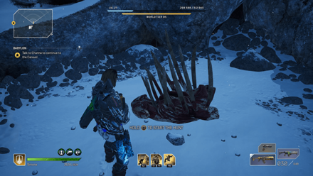 Outriders - Hunter - Coldclaw Bones Location