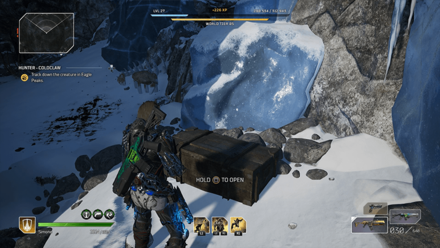 Outriders - Hunter - Coldclaw Chest Location1